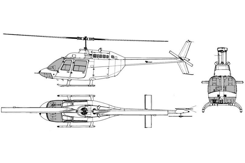 ベル式 206B 型